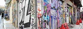 Streetart hilft Bürgern: Wie die Wirtschaftskrise Athens Szene belebt