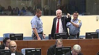 Völkermord im Balkankrieg: Kriegsverbrecher Mladic muss lebenslang in Haft