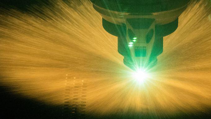 Ein Laser des deutschen Maschinenbauers Trumpf.