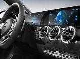 Freunde der analogen Instrumente müssen in der neuen Mercedes A-Klasse stark sein. Die wird es in Zukunft nicht mehr geben.