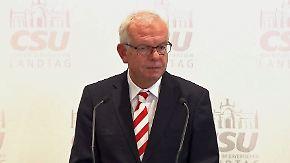 """Thomas Kreuzer zu Seehofer-Rücktritt: """"Das ist eine klassische Falschmeldung"""""""