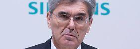 Fühlt sich zu Unrecht angegriffen: Siemens-Chef Joe Kaeser fragt SPD-Chef Schulz nach seiner Verantwortung.