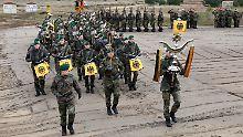 Gefechtstraining an der Grenze: Bundeswehr eröffnet neuen Übungsplatz