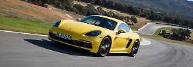 Der Porsche 718 GTS wurde für die Kurven gebaut.