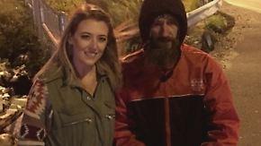 """Spendenaktion """"verändert mein Leben"""": Obdachloser hilft Frau aus der Patsche und wird belohnt"""