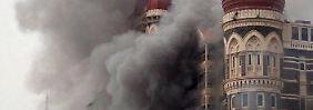 Bei dem Angriff auf das Luxushotel Taj Mahal.