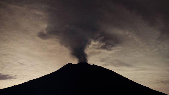 Der Mount Agung rumort seit Monaten.