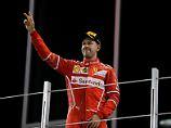 Bottas siegt in Abu Dhabi: Vettel erstmals Vize-Weltmeister mit Ferrari