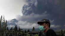 Zuletzt brach der Agung vor 54 Jahren aus.