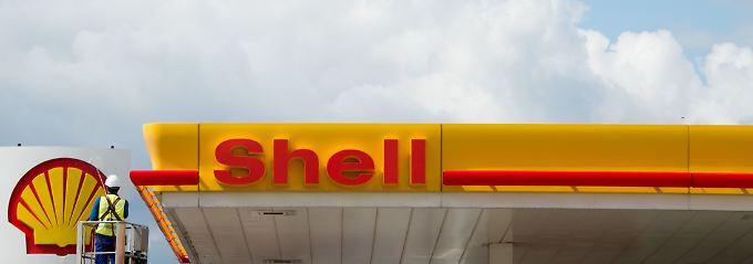 Noch gibt es hier vor allem Benzin und Diesel: Shell verfügt über ein eigenes Tankstellennetz.