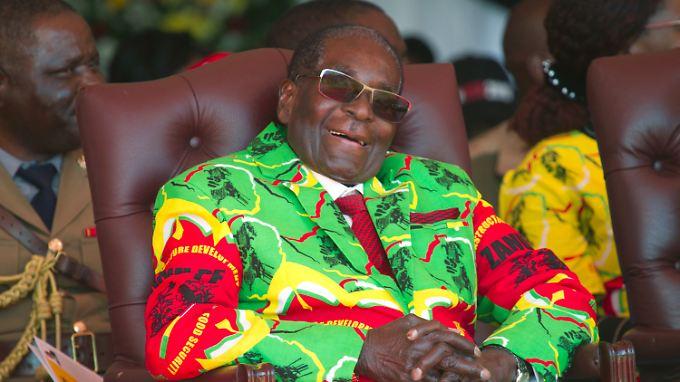 Robert Mugabe: Er hat keine Macht mehr, dafür hat er Stil.