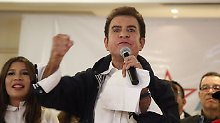 Präsidentschaftswahl in Honduras: Oppositionskandidat liegt überraschend vorn