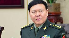 Nach Korruptionsvorwürfen: Hoher chinesischer General begeht Suizid