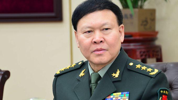 """General Zhang Yang soll """"schwere Verstöße gegen die Disziplin"""" begangen haben."""