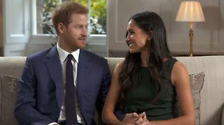 Heiratsantrag bei Brathähnchen: Prinz Harry und Meghan Markle plaudern über ihre Verlobung