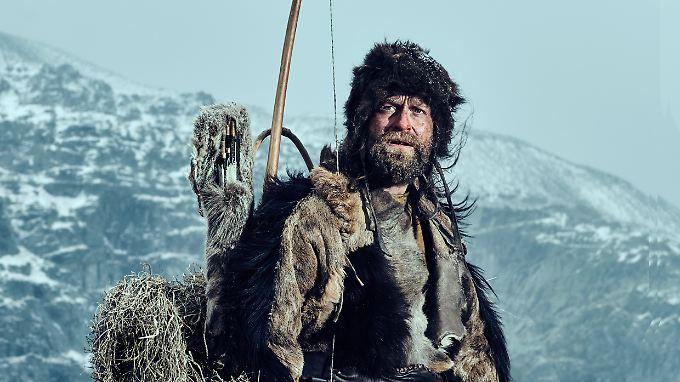 """In """"Der Mann aus dem Eis"""" wird Jürgen Vogel zu Ötzi."""
