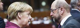 Kommt eine neue GroKo?: Hier könnte es bei Union und SPD knirschen