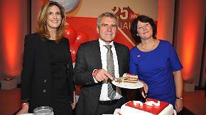 Politiker gratulieren und erinnern sich: n-tv feiert in Berlin seinen 25. Geburtstag