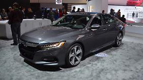Seit 42 Jahren ist der Honda Accord in den USA ein Verkaufsschlager.