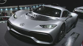 Fahrspaß und E-Mobilität in LA: Mercedes-AMG präsentiert schnittigen Project One