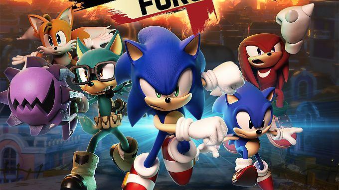Sonic Forces gibt's jetzt auch für PC.
