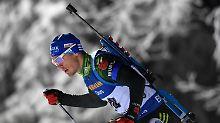Saisonauftakt in Schweden: Biathleten verpassen Podest meilenweit