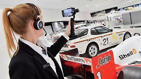 Virtueller Rundgang im Porsche Museum.