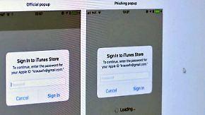 Miese Masche der Internetbetrüger: Gefälschte Pop-up-Fenster klauen Daten der Nutzer