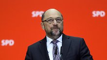 Missverständnis oder Intrige?: Schulz sauer über Leak aus Union