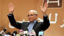 Herausforderer von al-Sisi: Emirate schieben ägyptischen Ex-Premier ab