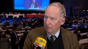 """Alexander Gauland im n-tv Interview: """"Die Partei lässt sich ungern dominieren"""""""