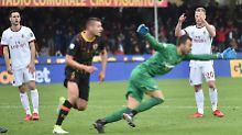Fußball skurril in Italien: Torwart-Irrsinn erlöst Beneventos Verlierer