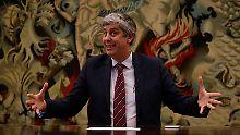 Neuer Chef der Eurogruppe: Centeno ist schon jetzt Berlins Liebling