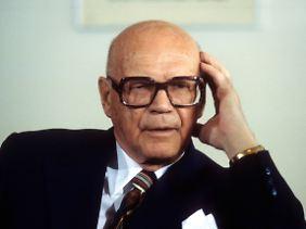 Kekkonen war ein Vierteljahrhundert lang finnisches Staatsoberhaupt.