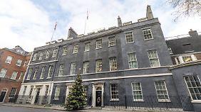 Hochgesicherter Amtssitz: Downing Street 10.