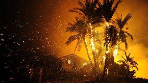 27.000 Menschen auf der Flucht: Waldbrände wüten nahe Los Angeles