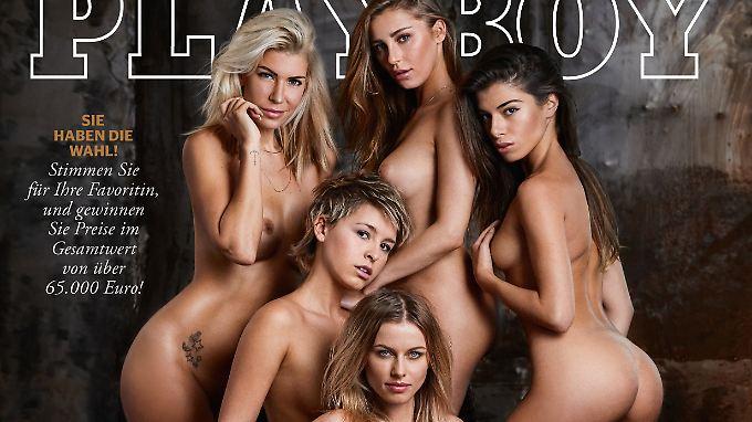 """Der """"Playboy"""" lässt über Nacktmodels abstimmen."""