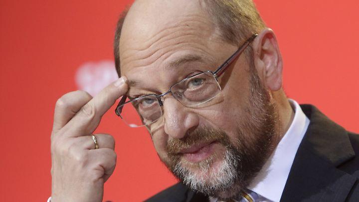 Für SPD-Chef Schulz dürfte es kein einfacher Parteitag werden.