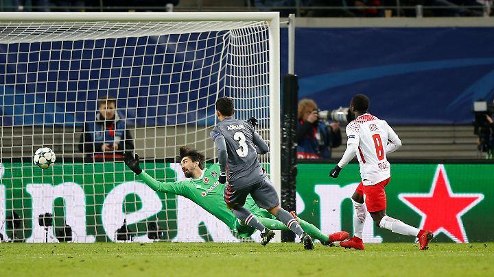 In der 87. Minute belohnte Leipzigs Naby Keita das Anrennen mit dem Ausgleich.