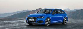 Statt eines V8 gibt es im Audi RS4 Avant nun einen V6-Turbo.