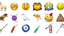 Haariges und verdrehtes Update: 2018 bringt spannende neue Emojis