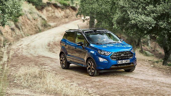 Mit 4,10 Metern ist der Ford Ecosport immer noch sehr kompakt.