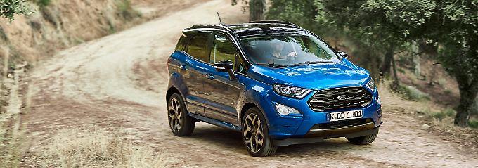 Mit 4,10 Meter ist der Ford Ecosport immer noch sehr kompakt.