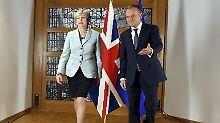 Regierung schätzt Kosten: Gemischte Gefühle nach Brexit-Durchbruch