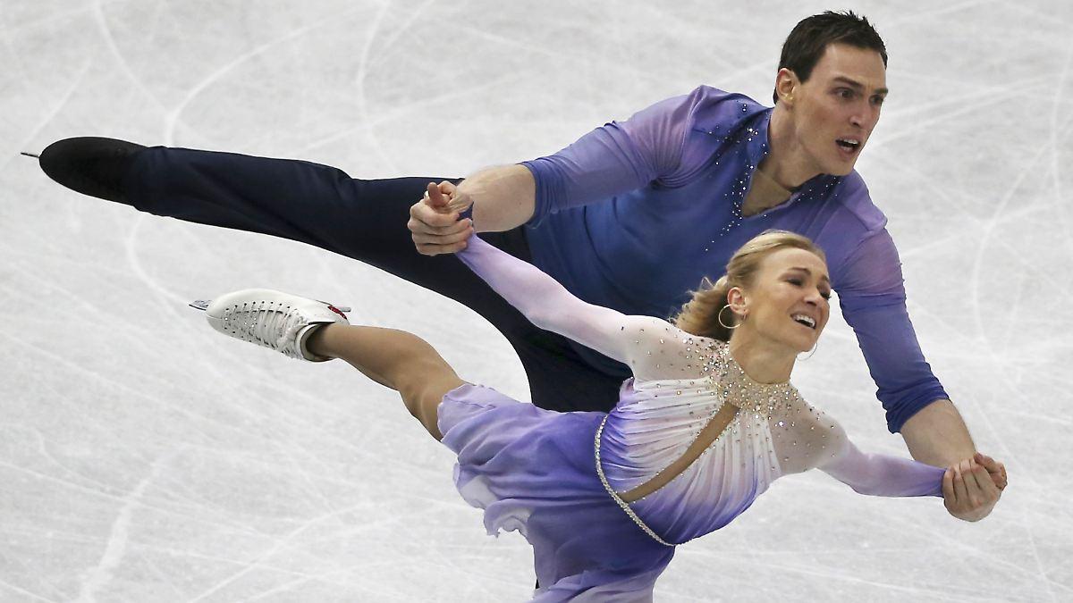 Ausrufezeichen vor olympia savchenko und massot wecken for Spiegel olympia