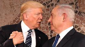 """Streit um Jerusalem: Netanjahu wirft Europa """"Doppelmoral"""" vor"""