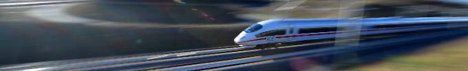 Der Tag: 08:27 Erneut Probleme auf neuer ICE-Strecke Berlin-München