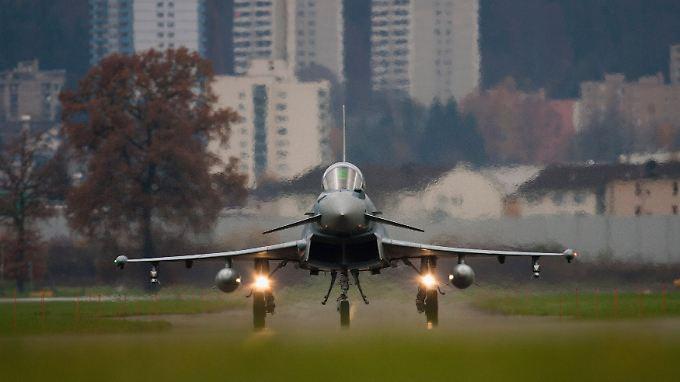 Das Verteidigungsministerium strebt offenbar an, den Eurofighter zum Nachfolger des Tornados zu machen.