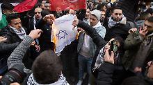 Antisemitische Proteste: Zentralrat der Juden will schärfere Gesetze