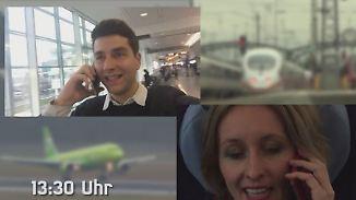 Schnellstrecke von München nach Berlin: Bahn oder Flugzeug - wer hat die Nase vorne?